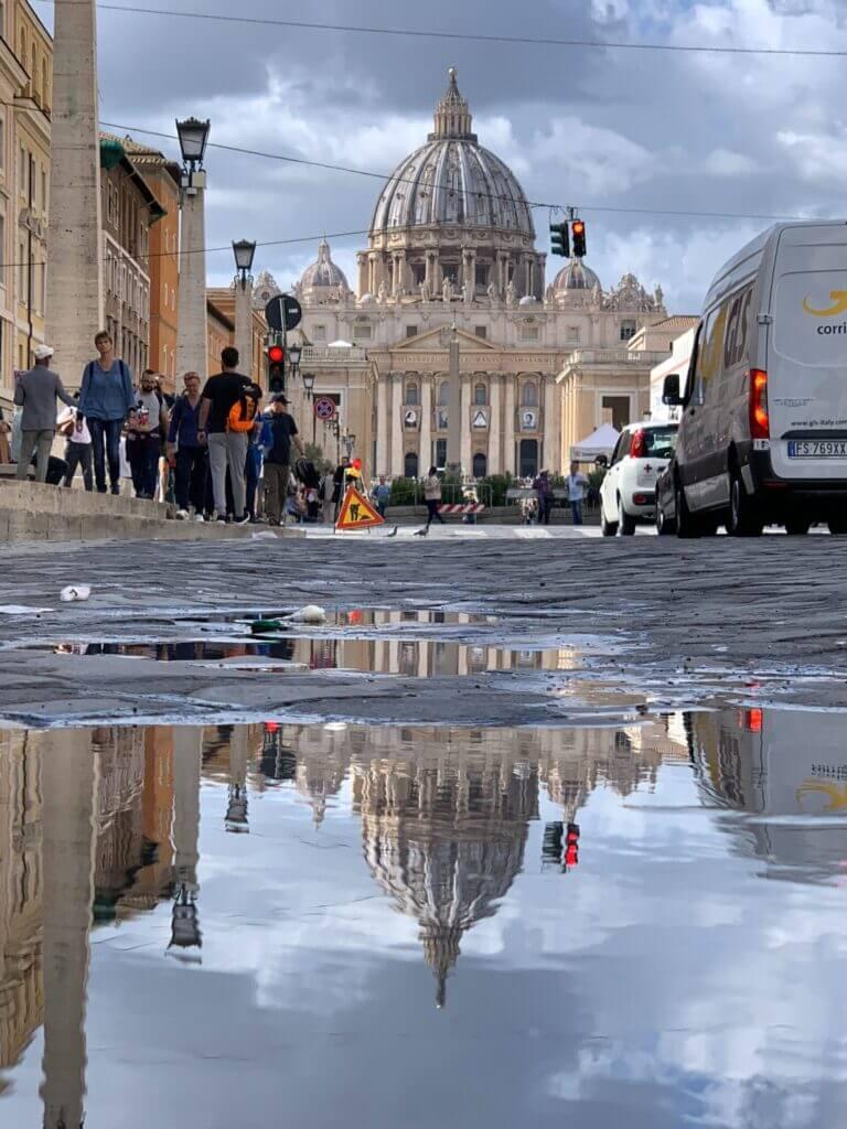 Billede af Peterskirken i Rom