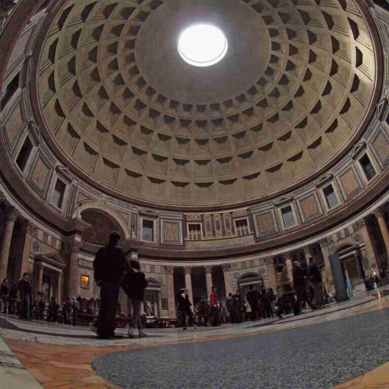 Billede af Pantheon i Rom.