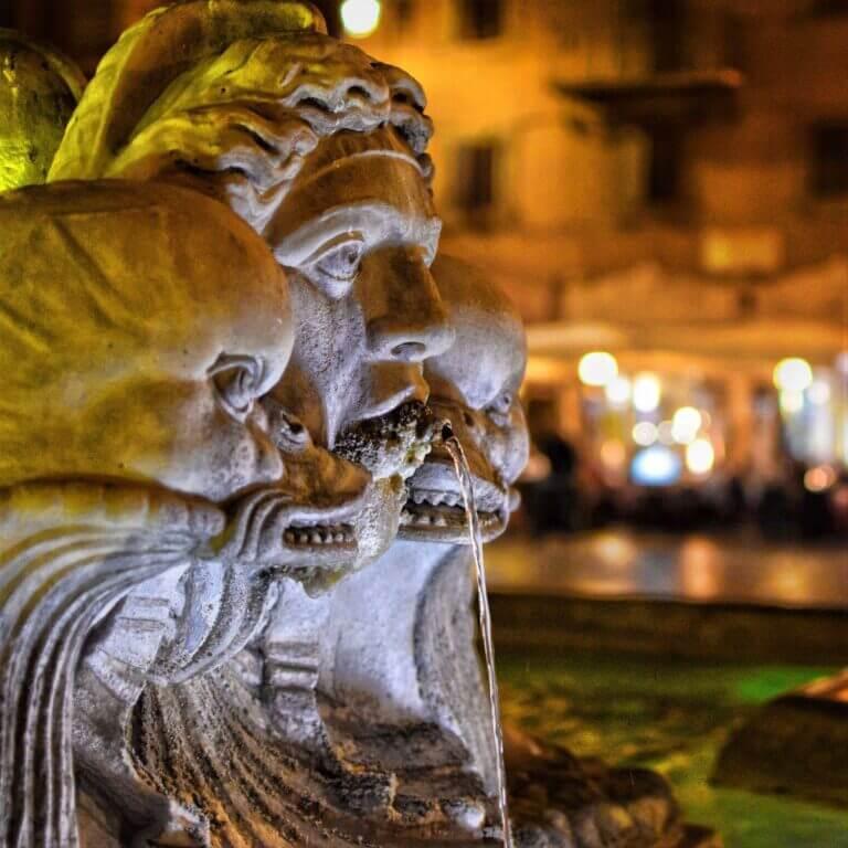 Ferie i Rom i februar.