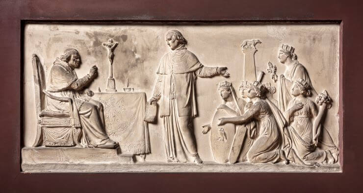 Bertel Thorvaldsens gravmæle til Ercole Consalvi