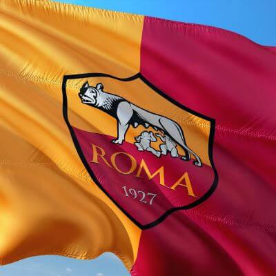 Fodboldklubben AS Romas flag