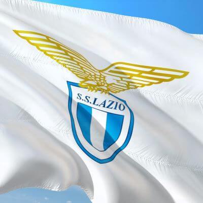 Fodboldklubben SS Lazios flag