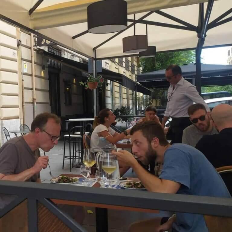 Santizi - Godt og billigt spisested i Rom