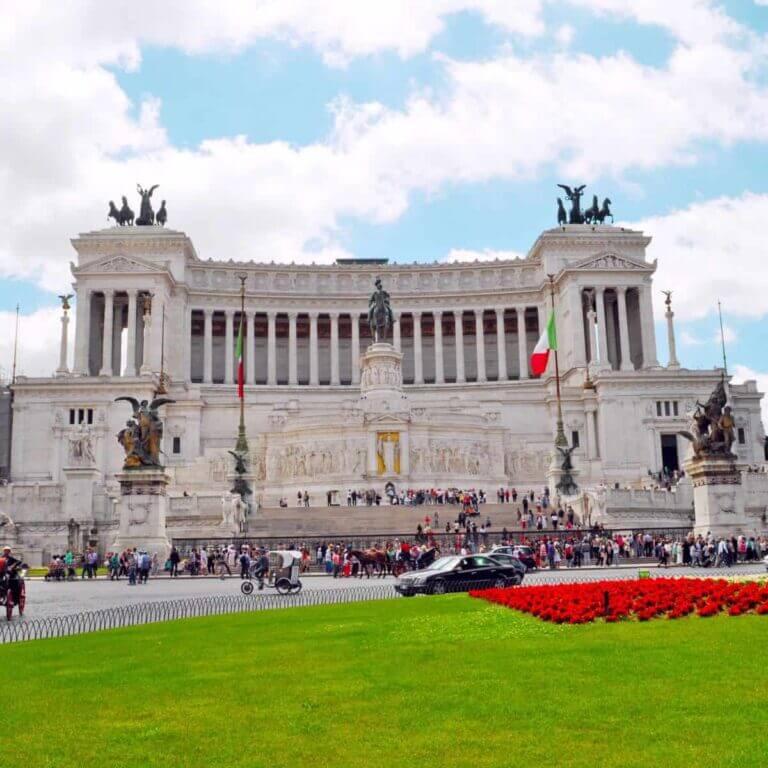 Victor Emanuel Monumentet i Rom